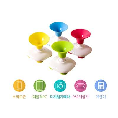 귀엽고 아기자기한 스마트 기기 실리콘 거치대 / 360도 회전 가능 / 컬러 4종
